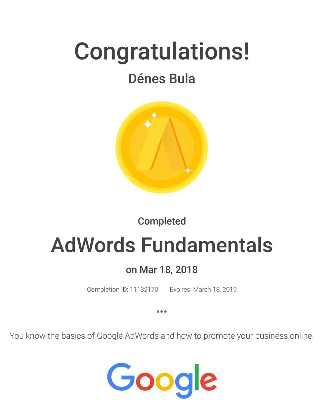 Bula Denes _google adwords basic minosites_ weboldal_keszites_adnetmedia