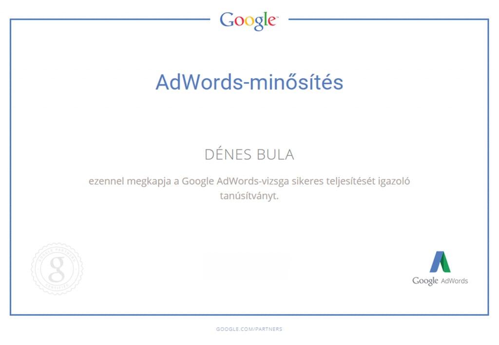 Bula Denes _google adwords minosites_ weboldal_keszites_adnetmedia