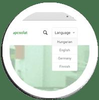 nyelvvalaszto modul weboldal keszites_feature