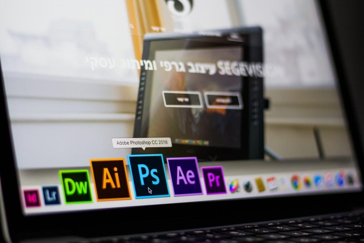 Photoshop weboldal készítés
